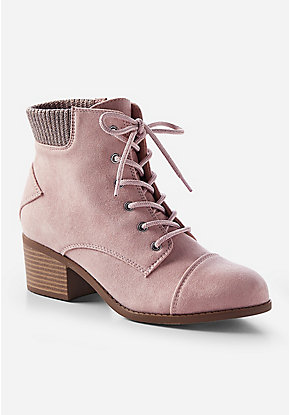 Blush Ankle Boots