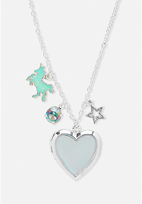 Holo Locket Necklace