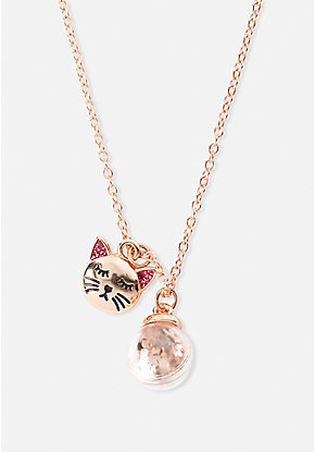 Shaky Cat Necklace
