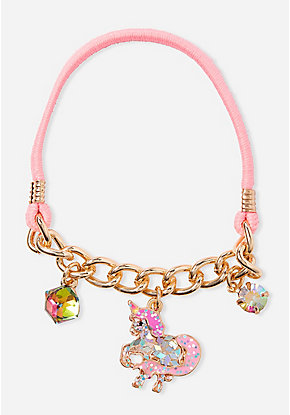 Unicorn Stretch Charm Bracelet