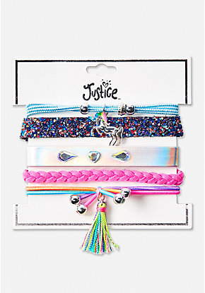 Unicorn Magic Sparkle Bracelet - 5 Pack