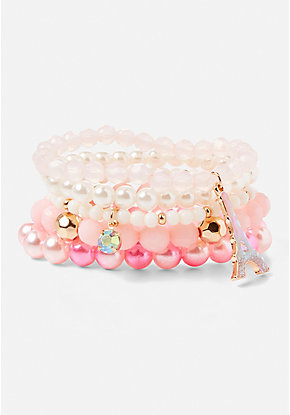 Paris Stretch Bracelet - 5 Pack