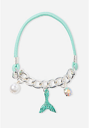 Mermaid Stretch Charm Bracelet