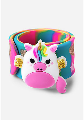 Unicorn Charm Slap Bracelet