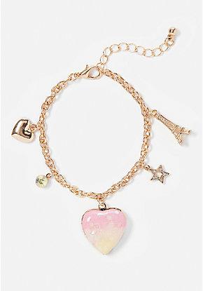 5b6fcf1c1b0d4 Girls' Bracelets - Charm & BFF Bracelets   Justice