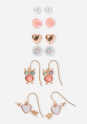 5d7717d9d Girls' Earrings - Stud & Dangle Earrings | Justice