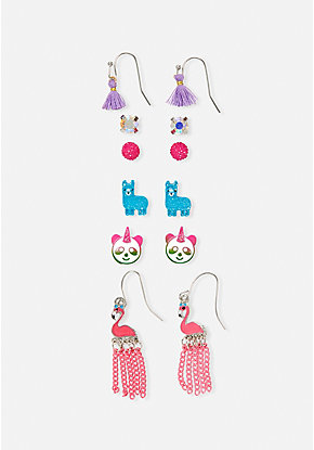Critter Cute Earrings - 6 Pack