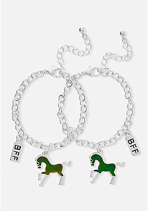 BFF Mood Unicorn Bracelet - 2 Pack