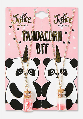 Pandacorn BFF Potion Pendant Necklace - 2 Pack