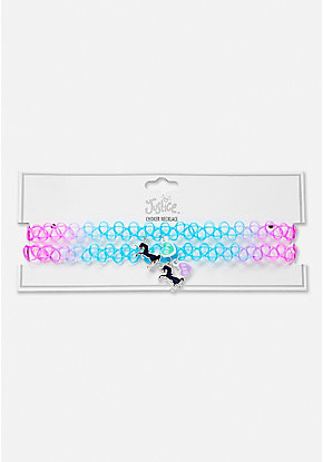 BFF Mood Unicorn Choker - 2 Pack