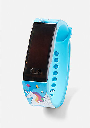 Blue Blueberry Scented LED Watch