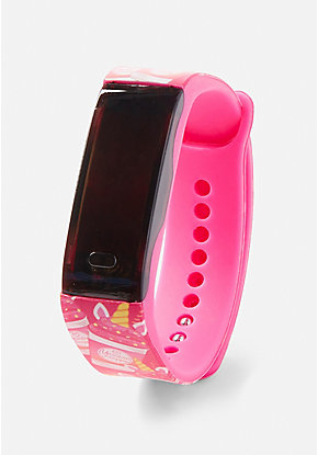 Pink Cotton Candy Scented LED Watch