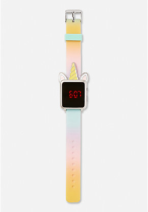 Dye Effect Silicone LED Watch