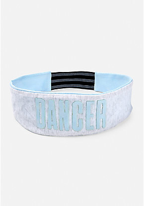 Dance Shimmer Reversible Headwrap