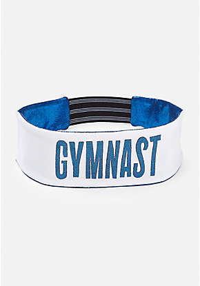 Gymnastics Shimmer Reversible Headwrap