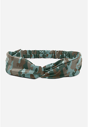 Camo Twist Headwrap