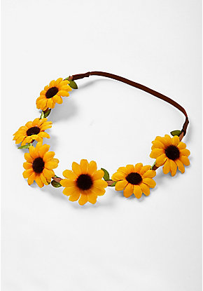 Sunflower Headwrap