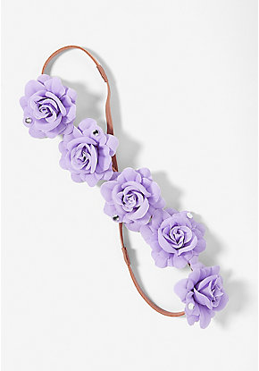 Flower Halo Headwrap