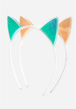 Marble Cat Ear Headband - 2 Pack
