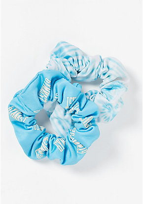 Gymnastics & Tie Dye Scrunchies - 2 Pack