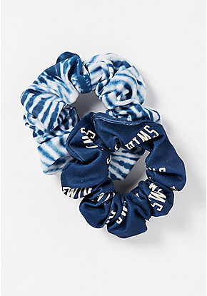 Swim & Tie Dye Scrunchies - 2 Pack