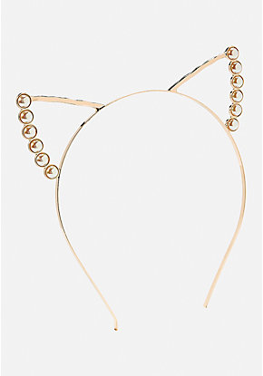 Pearl Cat Ear Headband