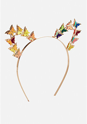 Butterfly Cat Ear Headband
