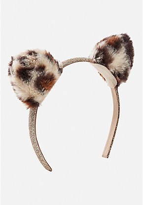 Cheetah Cat Ear Headband
