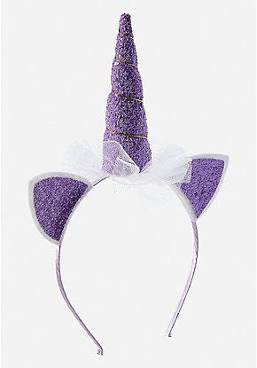 Purple Unicorn Headband