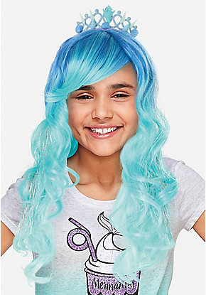 Mermaid Princess Wig