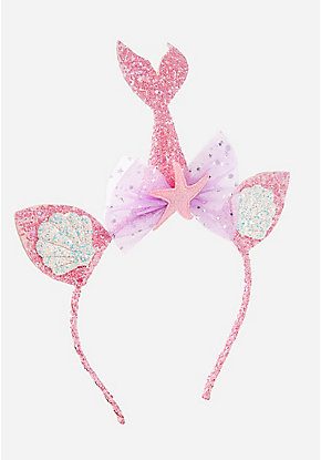 Mermaid Cat Ear Headband