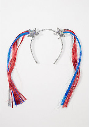 Patriotic Pigtails Headband