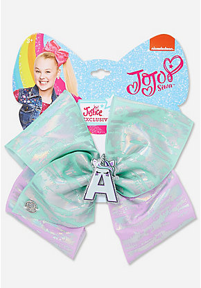 Justice Exclusive Pastel Shimmer Unicorn Jojo Siwa Bow