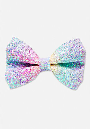 Ombre Glitter Hair Bow