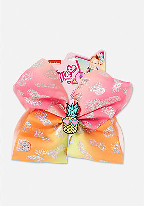 Justice Exclusive Pineapple Scented Jojo Siwa Bow