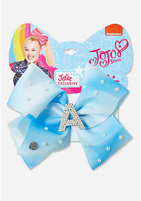 Justice Exclusive Pearl Initial Jojo Siwa Hair Bow