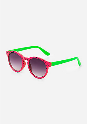 Watermelon Round Sunglasses