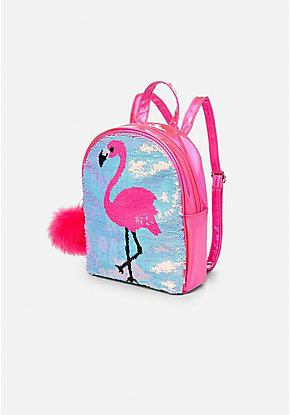 Basically Not Basic Flip Sequin Mini Backpack