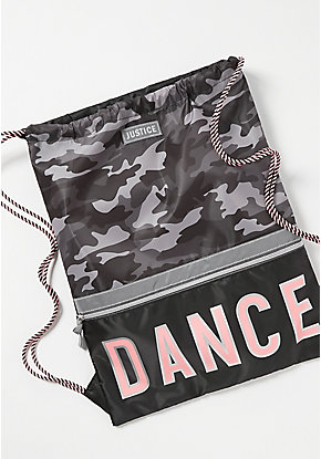 Dance Camo Drawstring Backpack
