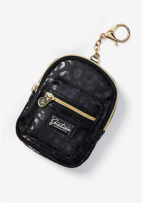 Leopard Backpack Keychain