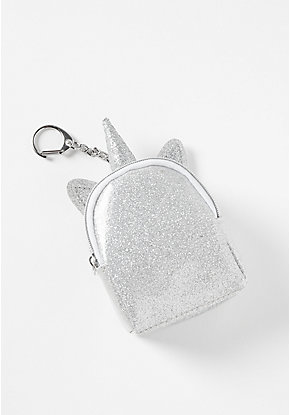 Unicorn Color Changing Backpack Keychain