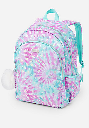 Foil Star Tie Dye Backpack