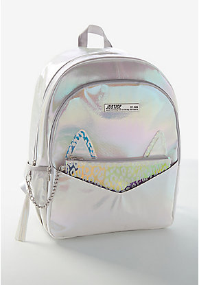 Leopard Holo Backpack