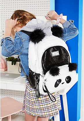 Sparkle Panda Backpack & Crossbody