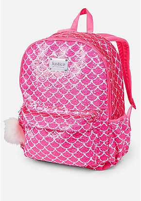 Mermaid Flip Sequin Backpack