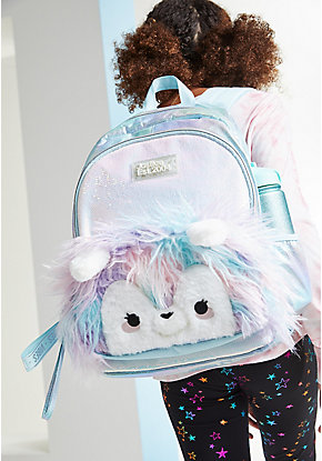 Pastel Llama Backpack & Crossbody