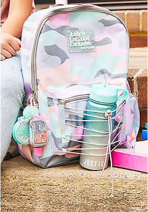 Pastel Camo Backpack