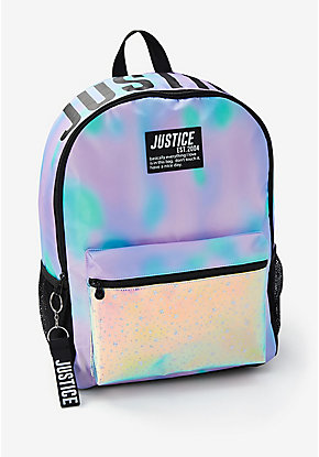 Dye Effect Stars Backpack