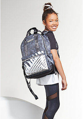Tie Dye Stripe Backpack