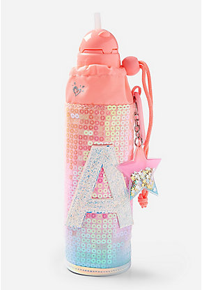 Ombre Initial Sleeved Water Bottle